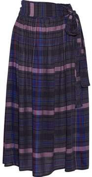 Apiece Apart Elisa Printed Voile Midi Skirt