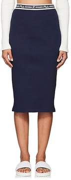 Fila Women's thedrop@barneys: Logo-Waistband Stretch-Cotton Pencil Skirt