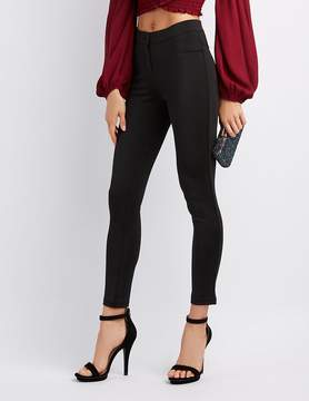 Charlotte Russe Satin Skinny Trousers