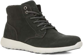 GBX Charcoal Atomik Leather Sneaker - Men