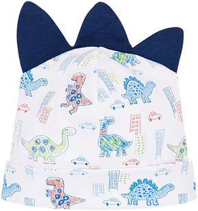 Kissy Kissy Dinosaur Print Hat