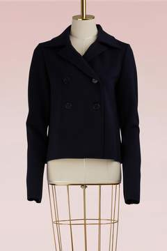 Jil Sander Double Breasted Wool Jacket