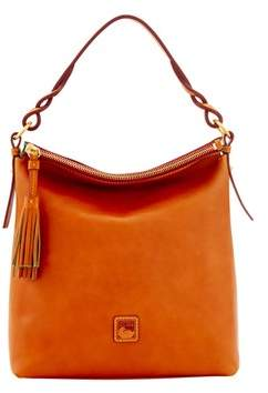 Dooney & Bourke Florentine Small Sloan Bag. - CHESTNUT - STYLE
