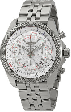 Breitling Bentley B06 S Chronograph Automatic Silver Dial Men's Watch