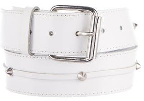 Philosophy di Alberta Ferretti Embellished Leather Belt