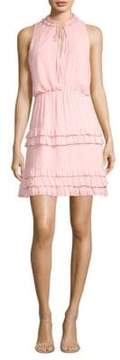 Laundry by Shelli Segal Tiered Ruffle Dress