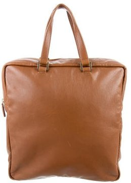 Jimmy Choo Leather Square Tote