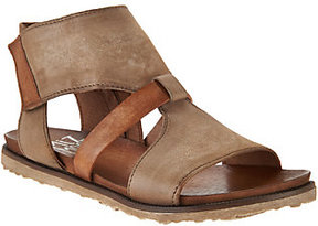 Miz Mooz As Is Leather Cut-out Sandals - Tamsyn