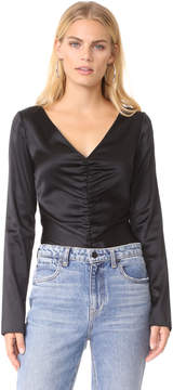 Elizabeth and James Adela Ruched Blouse
