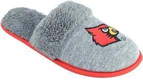 NCAA Women's Louisville Cardinals Sherpa-Lined Clog Slippers