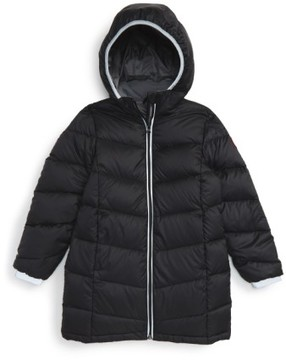 Canada Goose Girl's 'Madeline' Hooded Down Jacket