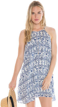 Bella Dahl Halter Dress-Still Water-XS