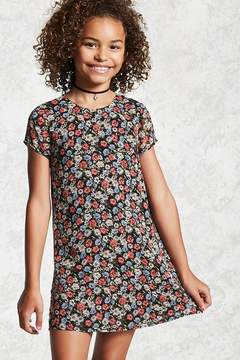 Forever 21 Girls Floral Dress (Kids)