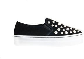 Alice + Olivia Sasha Pearls Slip On Sneaker