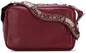 RED Valentino RED(V) snake strap crossbody bag