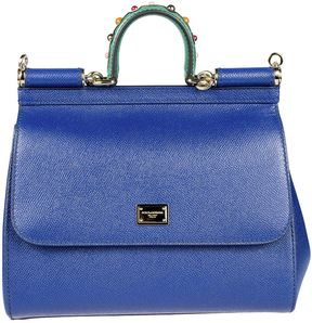 Dolce & Gabbana Sicily Tote - BLUE - STYLE