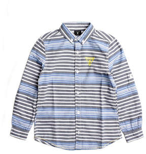 GUESS Long-Sleeve Striped Shirt (8-18)
