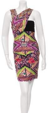 Matthew Williamson Printed Sleeveless Dress