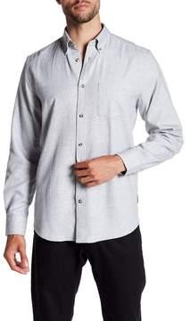 Ben Sherman Long Sleeve Solid Woven Shirt