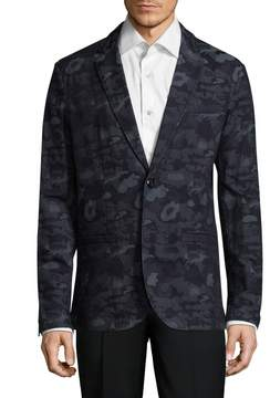 Armani Exchange Men's Camo Print Sportcoat