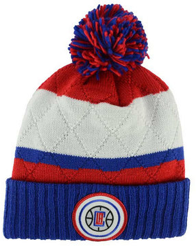 Mitchell & Ness Los Angeles Clippers Quilted Hi Five Knit Hat