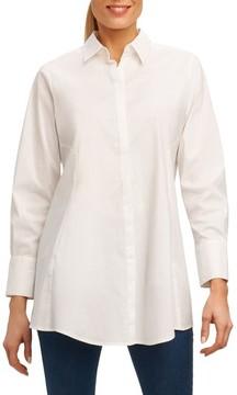 Foxcroft Women's Cici Stretch Tunic Shirt
