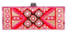 Edie Parker Flavia Embroidered Clutch