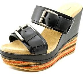 Very Volatile Sandhill Open Toe Leather Wedge Sandal.