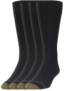 Gold Toe GOLDTOE Men's GOLDTOE 3-pack + 1 Bonus Hampton Dress Socks