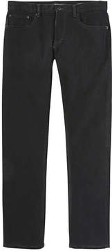 Joe Fresh Men's Slim Straight Black Jean, Black (Size 33X30)