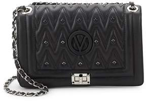Mario Valentino Valentino by Women's Alice D Embellished Leather Shoulder Bag