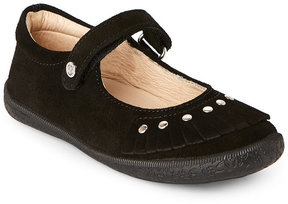 Naturino Toddler/Kids Girls) Black Stud Accent Shoes
