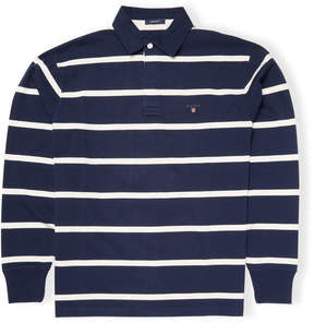 Gant Men's Striped Cotton Polo