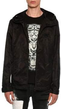 Just Cavalli Embroidered Wind-Resistant Jacket