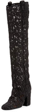 Laurence Dacade 95mm To-The-Knee Lace Boot