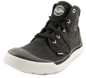 Palladium Pallarue Hi Cvs Round Toe Canvas Sneakers.