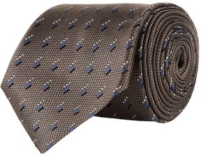 Pal Zileri Geometric Stripe Print Tie