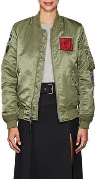 Alpha Industries Women's thedrop@barneys: MA-1 Reversible Insulated Bomber Jacket