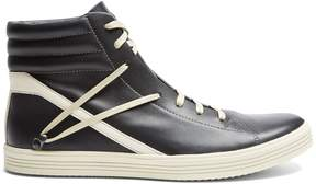 Rick Owens Thrasher high-top leather trainers