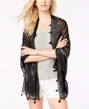 INC International Concepts I.n.c. Summer Metallic Wrap & Scarf, Created for Macy's