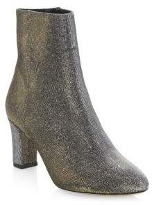 LK Bennett Almond Toe Heeled Ankle Boots