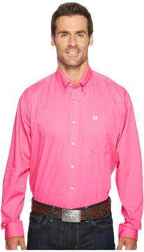 Cinch Solid Long Sleeve Men's Clothing