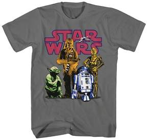 Star Wars Boys' Graphic T-Shirt - Gray