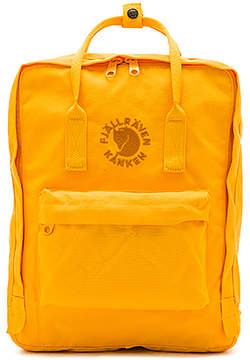 Fjallraven Re-Kanken in Yellow.