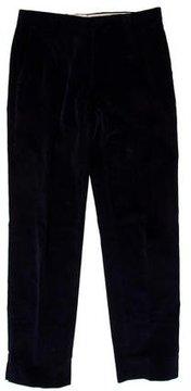 Dries Van Noten Corduroy Flat Front Pants