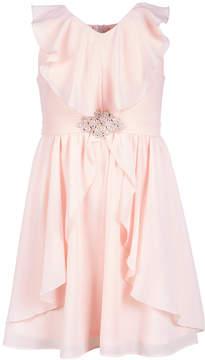 Us Angels Big Girls Ruffle-Trim Chiffon Dress