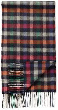 Charles Tyrwhitt Multi Block Check Cashmere and Merino Scarf
