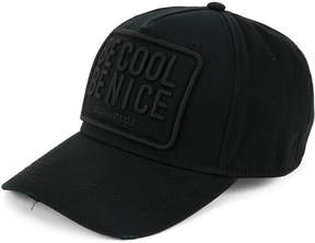 DSQUARED2 Be Cool Be Nice baseball cap