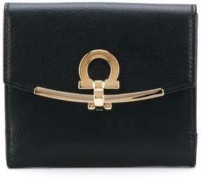 Salvatore Ferragamo fold-over clasp purse