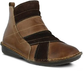 Spring Step Groove Women's Ankle Boots